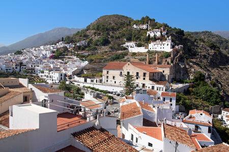 'costa del sol': Frigiliana on Costa del Sol, Andalusia, Spain