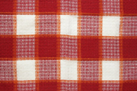 kitchenette: red checkered tablecloth texture