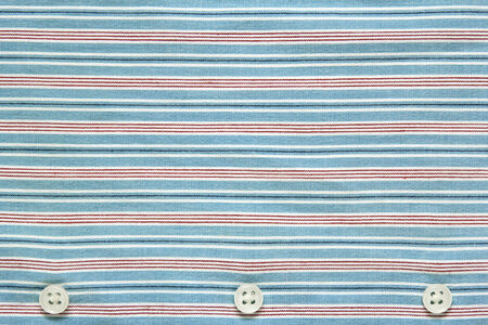 blue striped shirt texture with buttons  photo