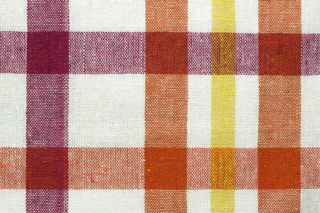 colorful checkered fabric background  photo