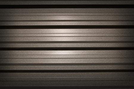 corrugation: metal background