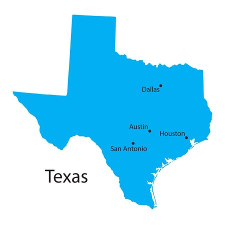 Orange Map Of Texas Royalty Free Cliparts Vectors And Stock - Picture map of texas