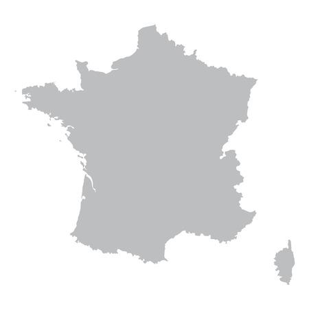 프랑스의 회색지도