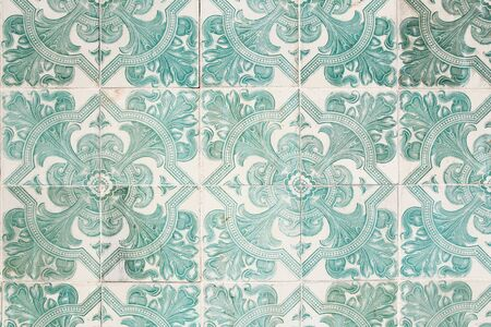 portugese: traditional portugese tiles background Stock Photo