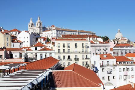 Lisbonne paysage urbain Banque d'images