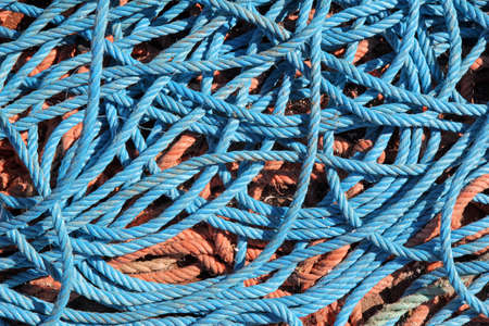 rope background: Coils of rope background