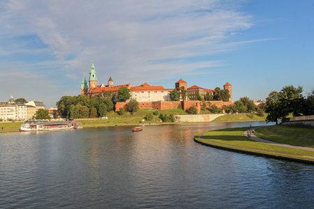 wawel: Wawel Royal Castle in Krakow, Poland Editorial
