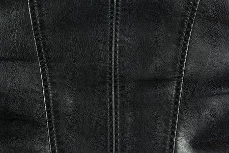 chaqueta de cuero: fondo chaqueta de cuero negro