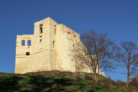 kazimierz dolny: Castle ruins in Kazimierz Dolny, Poland Editorial