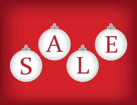 christmas sale: Christmas sale concept