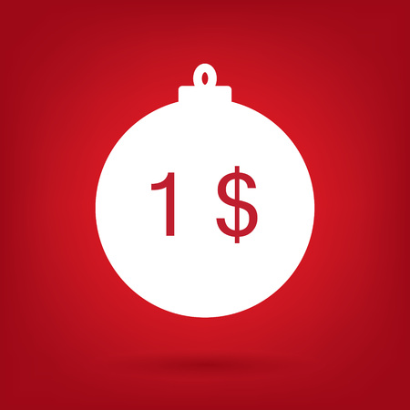 one on one meeting: Christmas sale sticker tag price 1 dollar