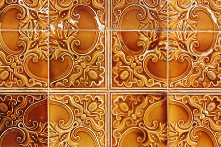 azulejos: traditional portuguese tiles background