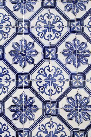 portuguese: traditional portuguese ceramic tiles