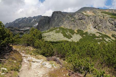 slovak: Beautiful Ml?nick? Valley in Slovak High Tatra Stock Photo