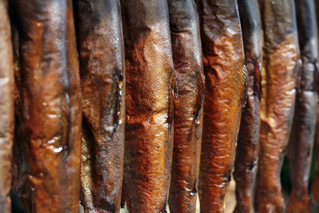 durability: smoked fish (trout)