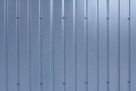 metal sheet: gray metal sheet wall background Stock Photo