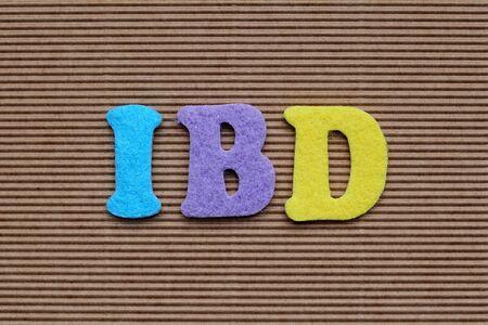 bowel: IBD (Inflammatory Bowel Disease) medical concept Stock Photo
