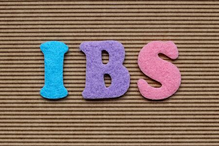 irritable bowel syndrome: IBS (Irritable Bowel Syndrome) medical concept Stock Photo