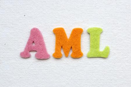 aml: AML (acute myeloid leukemia), medical concept