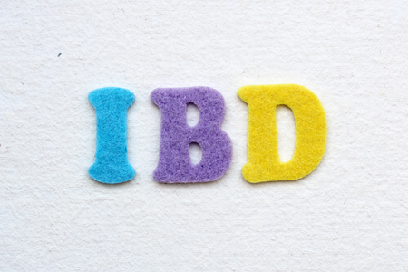 inflammatory bowel diseases: IBD (Inflamatory Bowel Disease) medical concept Stock Photo