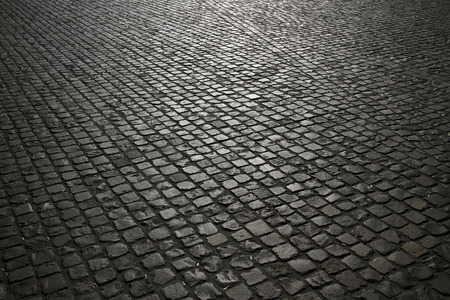 cobble pavement background
