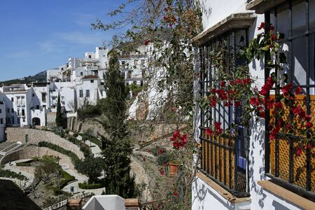 Frigiliana- one of the beautiful Spanish pueblos blancos in Andalusia, Costa del Sol
