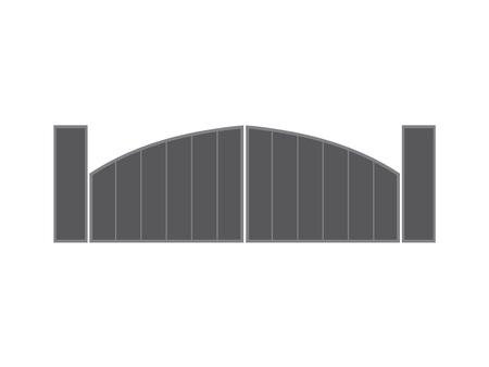 modern metal gate