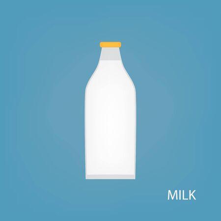 milk bottle icon- vector illustration