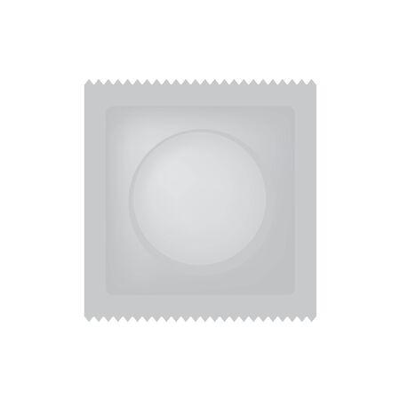 condom package icon Illustration