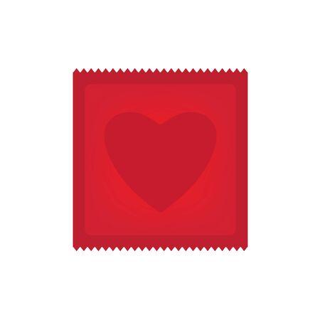 heart shaped condom