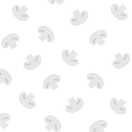 mushroom pattern- vector illustration