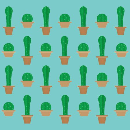 cactus background- vector illustration