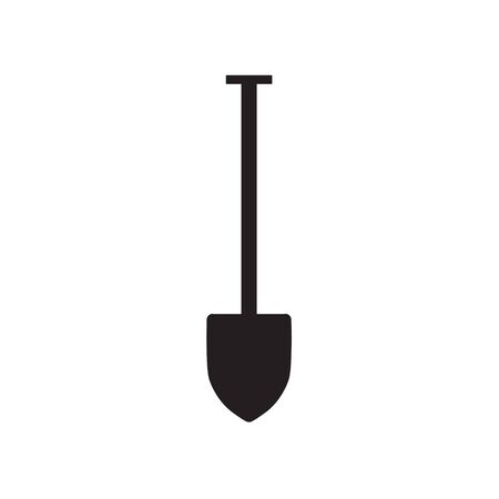 shovel icon- vector illustration