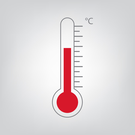 Thermometer icon vector illustration.