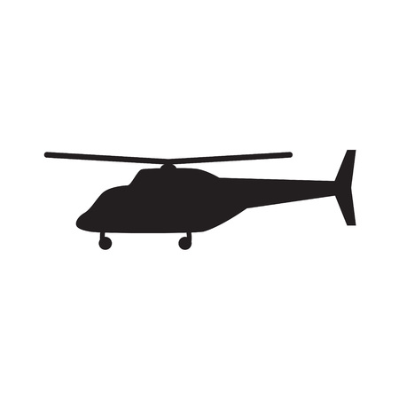 Helicopter icon- vector illustration