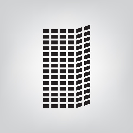 skyscraper icon- vector illustration Illustration