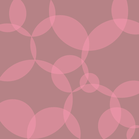Pink circle banner pattern- vector illustration Illustration