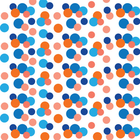 Colorful dots background or texture- vector illustration