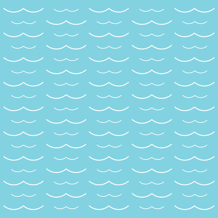 White waves background- vector illustration
