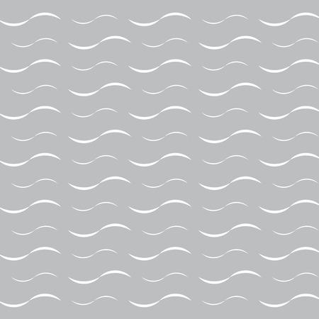 White waves on gray medical vector illustration