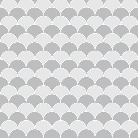 gray fish scale texture - vector illustration Illustration