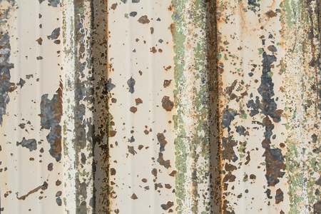 colorful rusty metal sheet background Stock Photo
