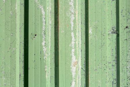 green rusty metal sheet background Stock Photo