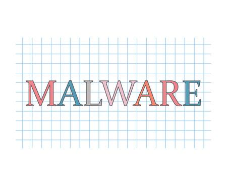 malware concept- vector illustration