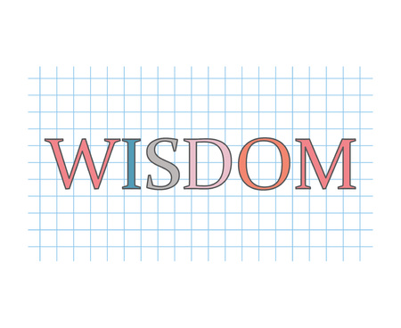 wisdom concept- vector illustration