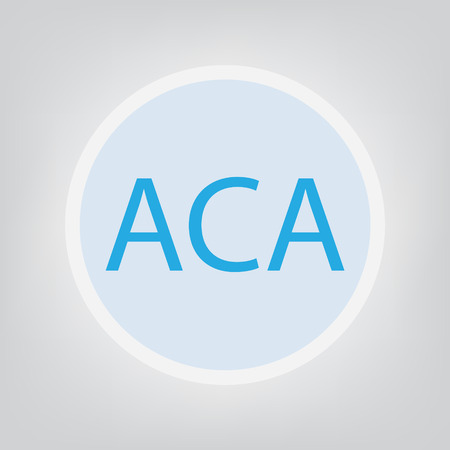 ACA (Affordable Care Act concept) - vector illustration 일러스트