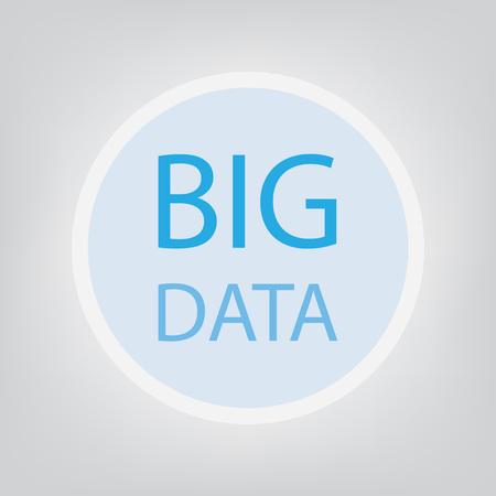 big data concept- vector illustration 向量圖像