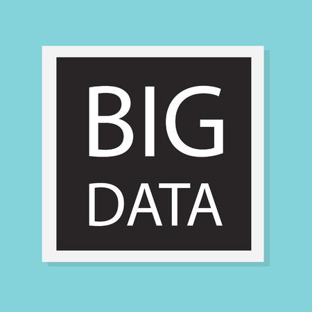 big data concept- vector illustration Иллюстрация