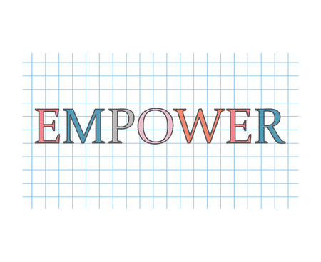 empower concept- vector illustration
