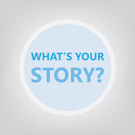 what is your story concept- vector illustration